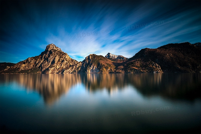 traunsee-mountains-longexposure-ND3200-water-trees-refelction-austria-lake-X3.jpg